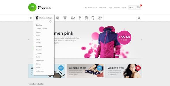 Shopeno - Modern Ecommerce PSD Template