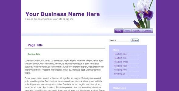 Iris - Creative Site Templates