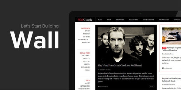 WallClassic Multi Grids Responsive with Jigoshop - Miscellaneous WordPress