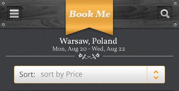 Book Me PSD