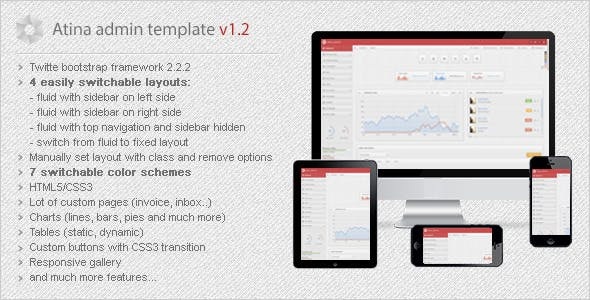 Video Player Bootstrap HTML Admin Website Template