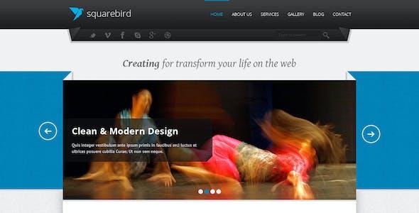 Squarebird - PSD Multipurpose Theme