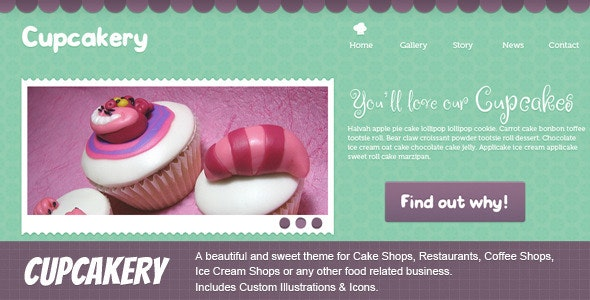 Cupcakery - Food Retail