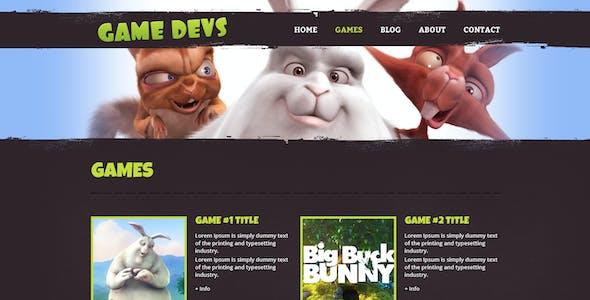 Game Devs HTML