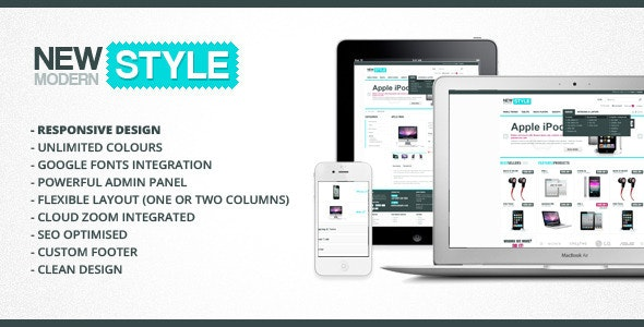 New Modern Style - Responsive & Powerful OpenCart  - Fashion OpenCart
