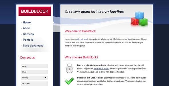 Build Block - Creative Site Templates