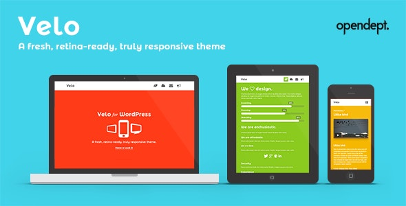 Velo - A fresh, Retina-Ready and Responsive Theme - Portfolio Creative