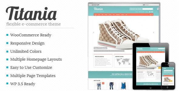 Titania - Flexible eCommerce Shop Theme - WooCommerce eCommerce
