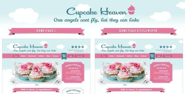 Delimondo Cupcakeheaven Fully Responsive HTML