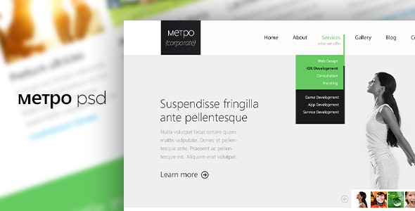 METPO PSD Template - Business Corporate