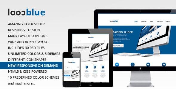 Coolblue - Responsive Multipurpose WordPress theme - Corporate WordPress