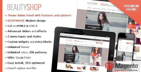 BeautyShop – Responsive Magento theme! - Fashion Magento