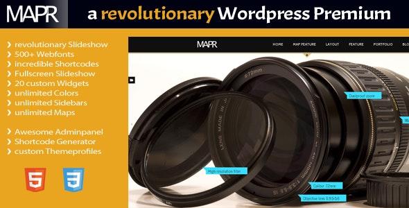 Mapr - a Wordpress Revolution - Corporate WordPress