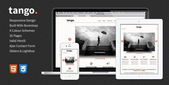 Tango - Responsive HTML5 Template