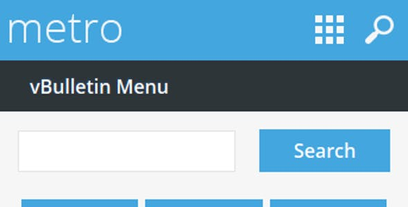 Metro Mobile - A Theme for vBulletin 4.2