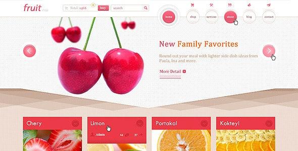 Fruit Shop - Food Retail