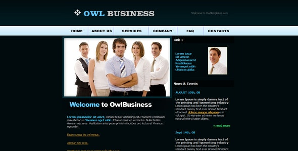 Corporate busines website template  - Business Corporate