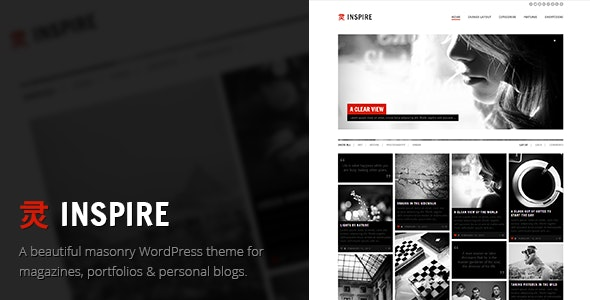 Inspire - A Multi-purpose, Masonry Theme - Blog / Magazine WordPress