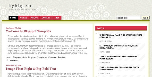 Light Olive Green by ooruc | ThemeForest