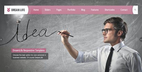 DreamLife Responsive Multi-Purpose HTML Template