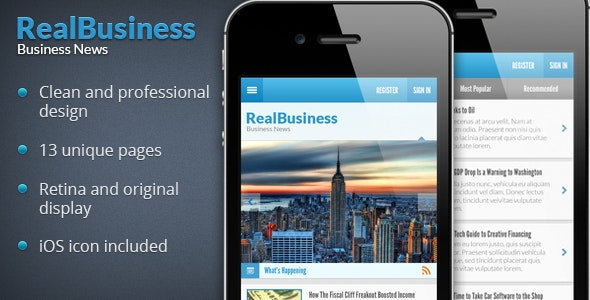 Business News PSD - Business Corporate