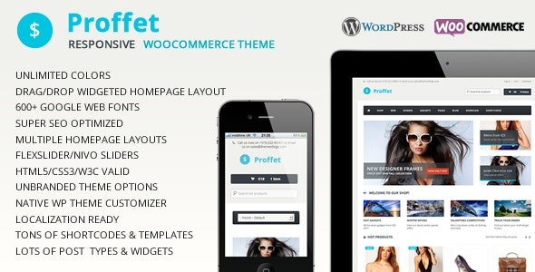 Proffet - Responsive WooCommerce Theme - WooCommerce eCommerce
