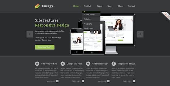 Energy - PSD Template