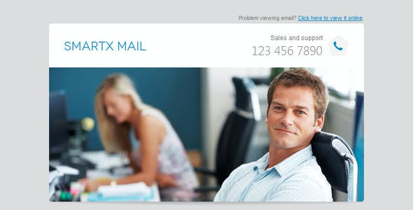 Smartx Mail - Responsive Email Template