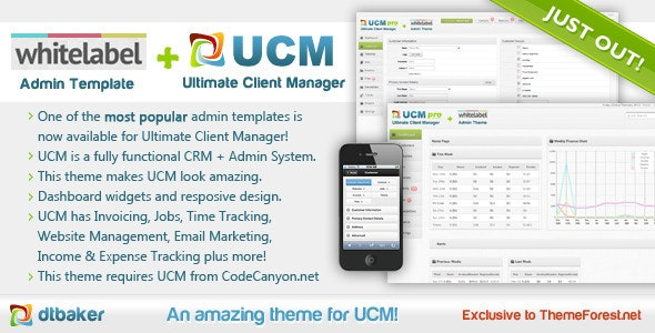 UCM Theme: White Label - Miscellaneous CMS Themes