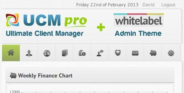 UCM Theme: White Label