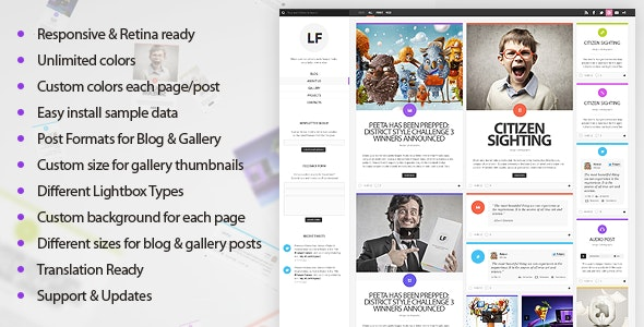LiquidFolio - Portfolio Premium WordPress Theme - Creative WordPress