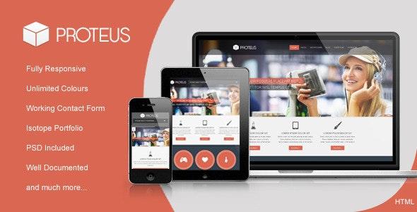 Proteus - Responsive Multipurpose HTML Template - Business Corporate