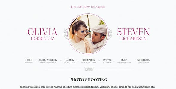 Game Over - Responsive Wedding Event Planning
