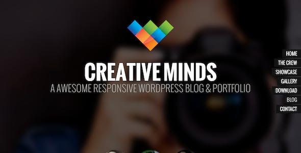 Creative Minds - One Page Portfolio Template