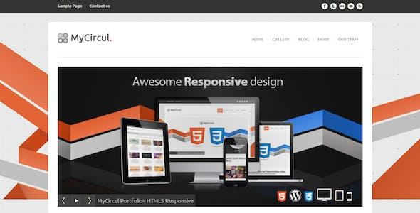 MyCircul - Creative WordPress Portfolio Theme