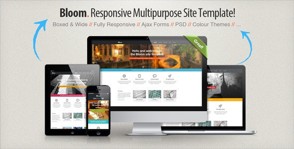 Bloom - Responsive Multipurpose Template - Business Corporate