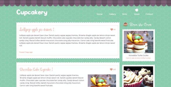 Cupcakery HTML