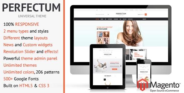 Perfectum – Responsive Magento theme! - Shopping Magento