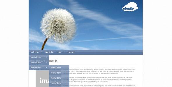 Cloudy - Professional Portfolio - Creative Site Templates