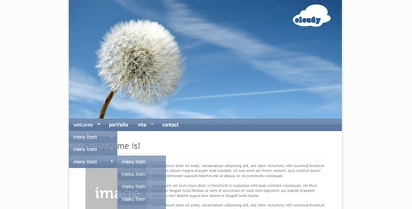 Cloudy - Professional Portfolio