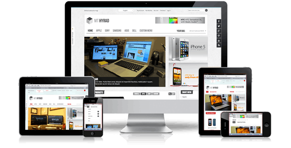 Hyrad - Hi-Tech Magento Theme - Magento eCommerce
