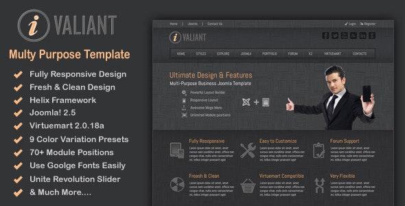 Ivaliant - Clean Responsive Joomla Template - Business Corporate