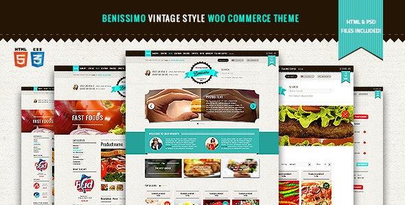 Benissimo — Vintage Style WooCommerce Theme - WooCommerce eCommerce