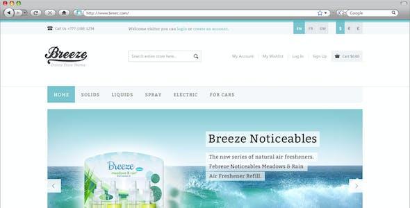 Breeze — Responsive WooCommerce Theme