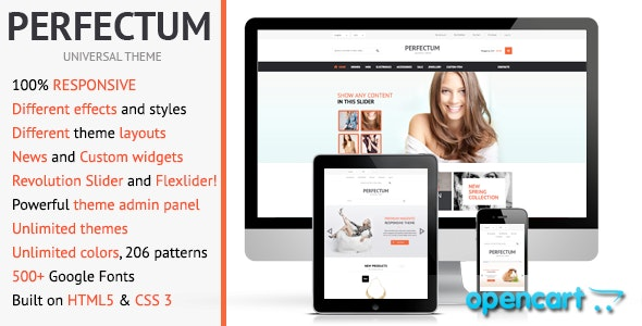 Perfectum – Premium Responsive OpenCart theme - Shopping OpenCart