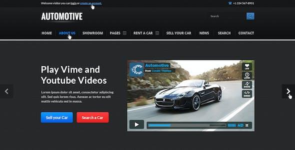 Automotive Cars Dealer Responsive HTML5/CSS3