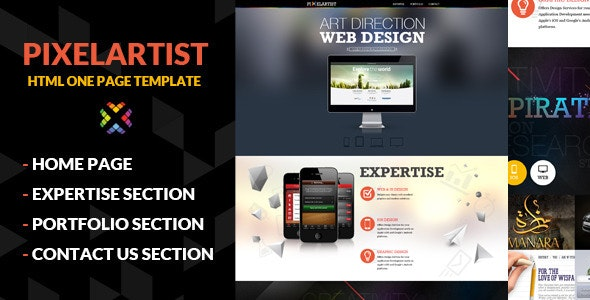 Pixel Artist by pixelzeesh | ThemeForest