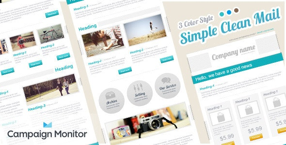 Simple Clean Mail - Email Templates Marketing