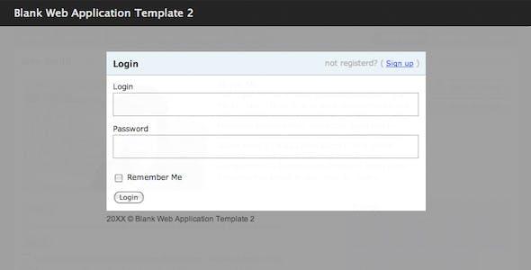 2 Columns Website Templates from ThemeForest