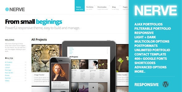 Nerve | Portfolio Theme for WordPress - Portfolio Creative